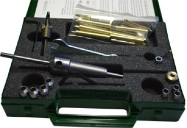 Stiftdorn-Set im Koffer mit Fräser und Bausatz (Mandrel) 001270 *5043